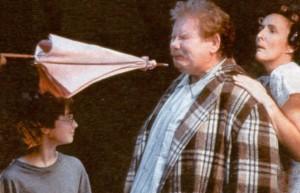 Hagrid punta l'ombrello a Zio Dursley - Lande Incantate