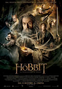Locandina dello Hobbit - Libri a 360° - Lande Incantate