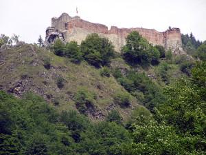 Le rovine del castello di Vlad III - Lande Incantate