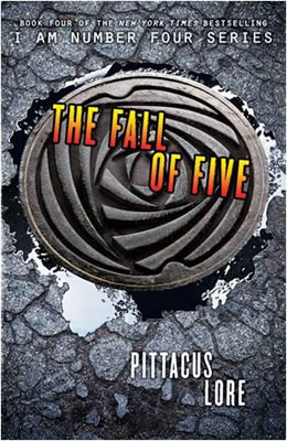 The Fall of Five - Pittacus Lore (Cover originale)