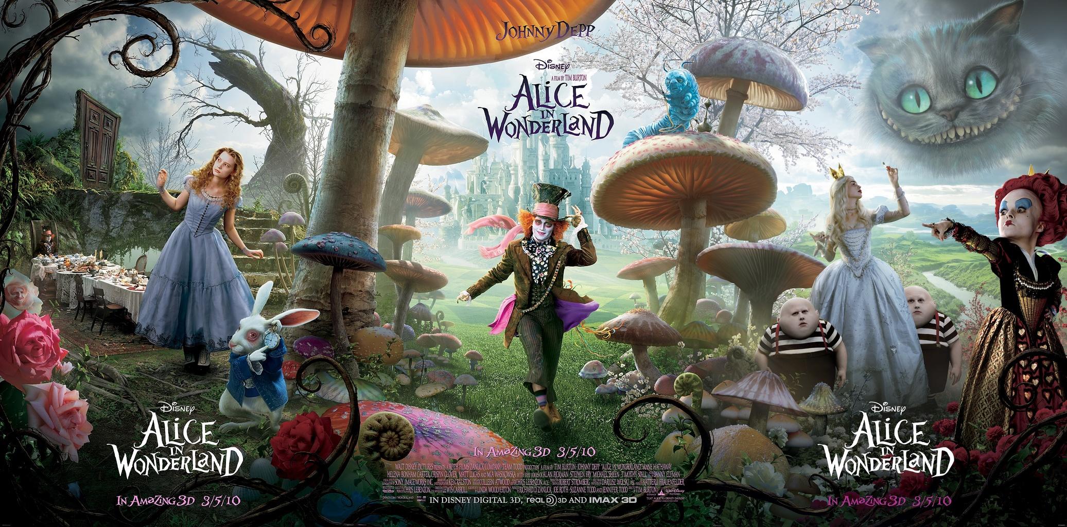 Alice nel paese delle meraviglie di lewis carroll lande for Cabine nel buco del jackson