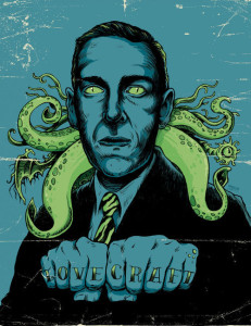 HP Lovecraft Art - Lande Incantate