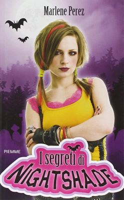 I segreti di Nightshade - Marlene Perez (Cover italiana) - Lande Incantate