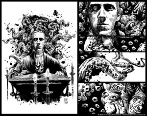 Lovecraft Art - Lande Incantate