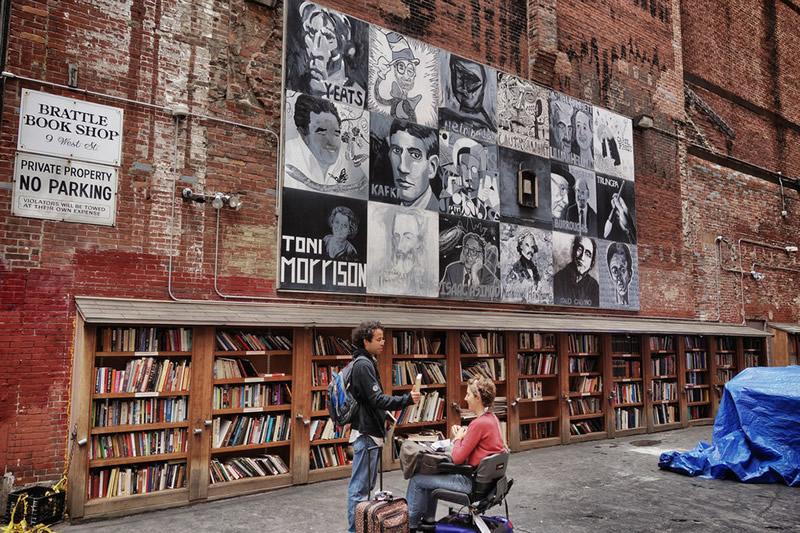 Brattle Book Shop - Boston 01 - Lande Incantate