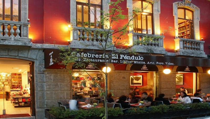 Cafebrería El Péndulo - Mexico City 02 - Lande Incantate
