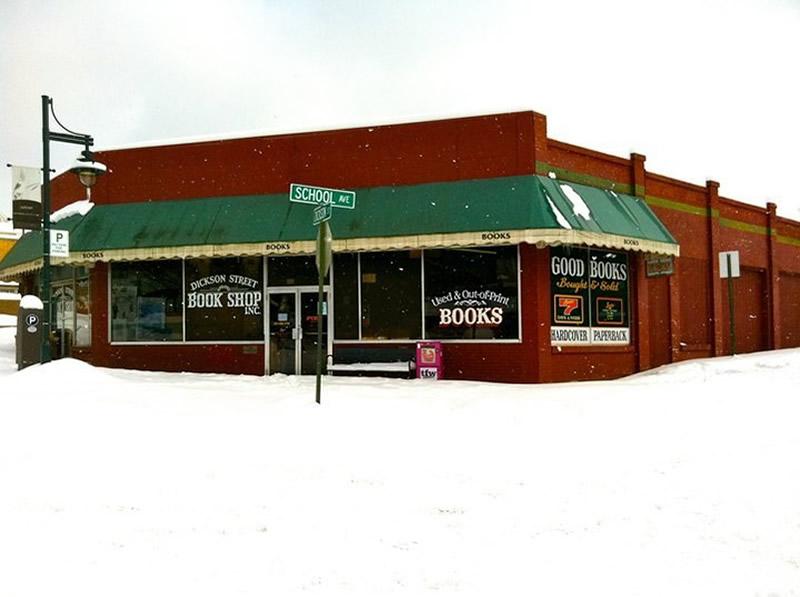 Dickson Street Bookshop - Fayetteville (Arkansas) 01 - Lande Incantate