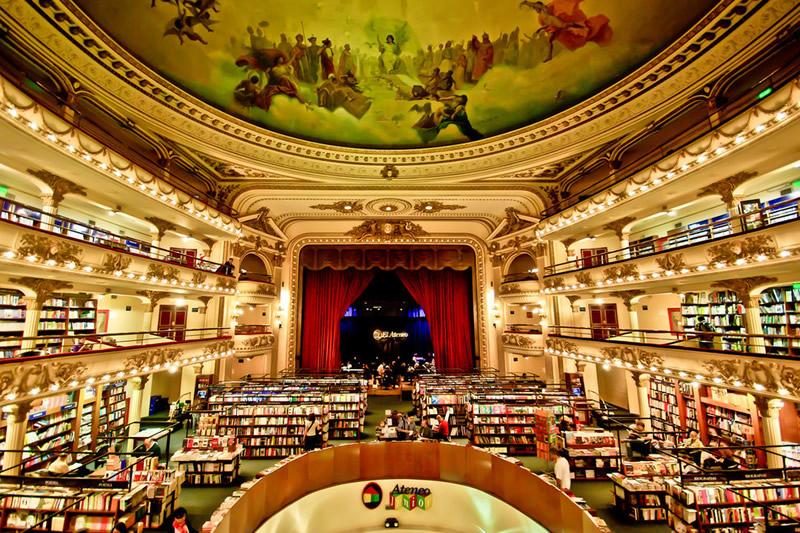 Libreria El Ateneo - Buenos Aires 01 - Lande Incantate