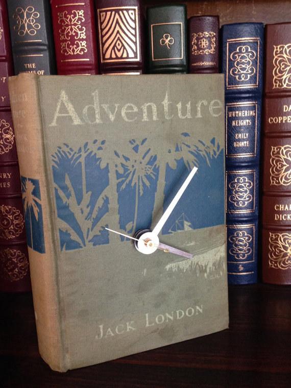 Orologio libro - Lande Incantate