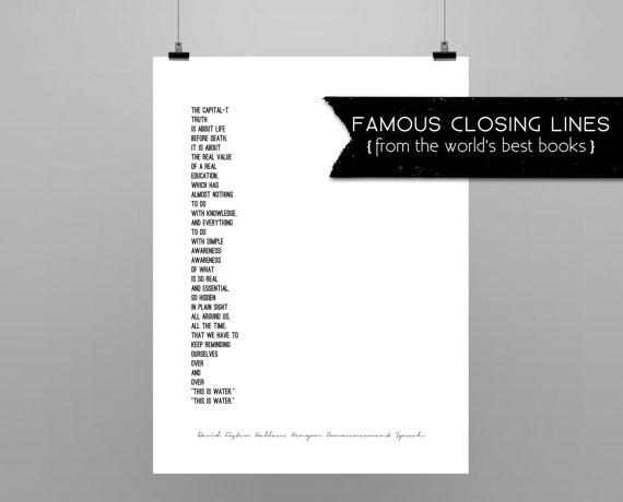 Poster chiusure famose - Lande Incantate