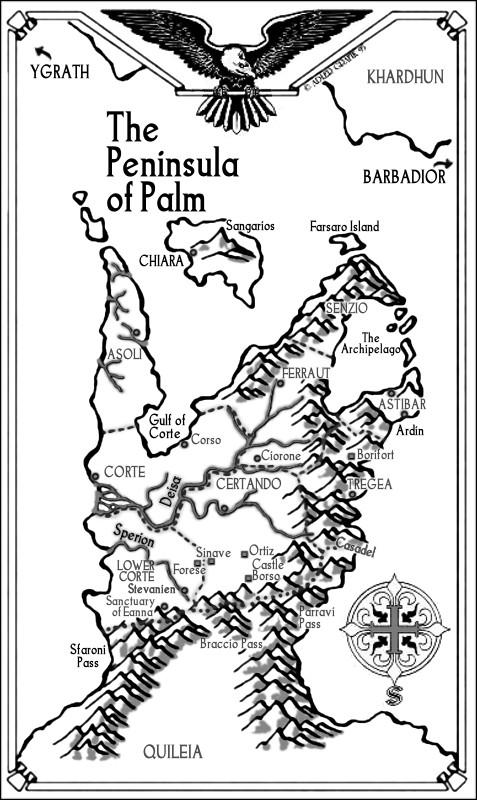 Tigana - Penisola del Palmo - Lande Incantate