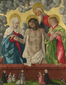 Baldung (Grien) La Trinità e Mistica Pietà - Lande Incantate