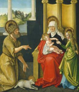 Sant'Anna con Gesù Bambino, la Vergine e San Giovanni - Lande Incantate