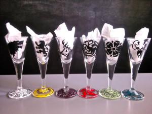 Bicchierini - Trono di Spade - Lande Incantate