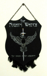 Placca Guardiani della Notte - Trono di Spade - Lande Incantate