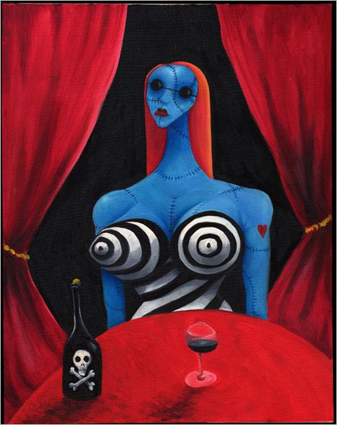 bluegirl, tim burton - Lande Incantate