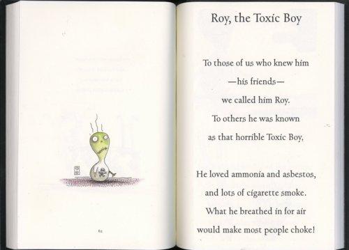Roy, The Toxic Boy - Tim Burton