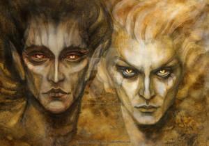 Melkor e Sauron - Lande Incantate