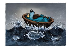 Orso blu - Lande Incantate