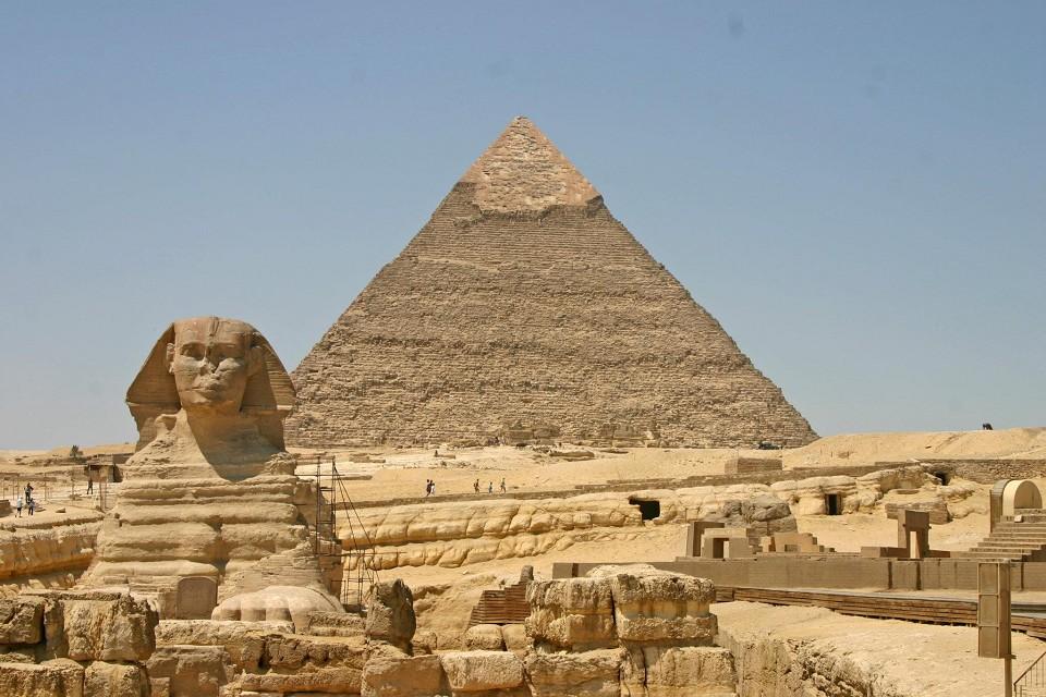 piramide di giza e sfinge - Lande Incantate