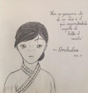 Orchidea - L'ombra e la tempesta - Lande Incantate