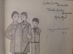35 Miles Red, Tobias e Luke Lucky - L'ombra e la tempesta - Lande Incantate