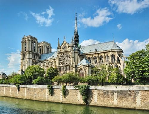 parigi,cattedrale di notre dame - Lande Incantate