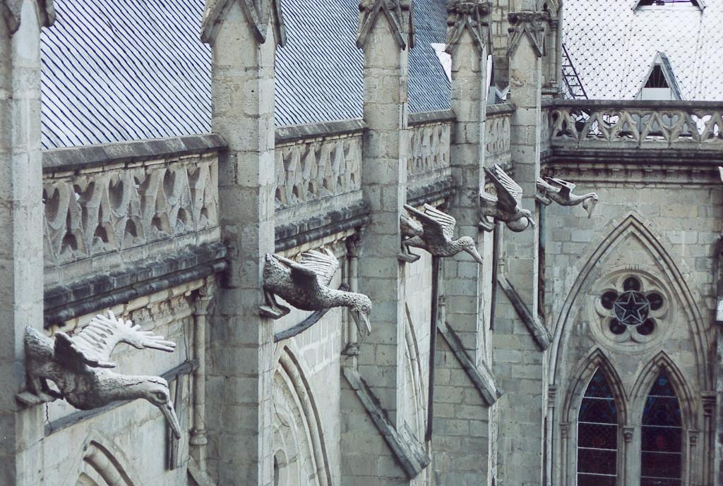 Ecuador gargoyles quito cathedral - Lande Incantate