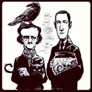 Poe, Lovecraft - Lande Incantate