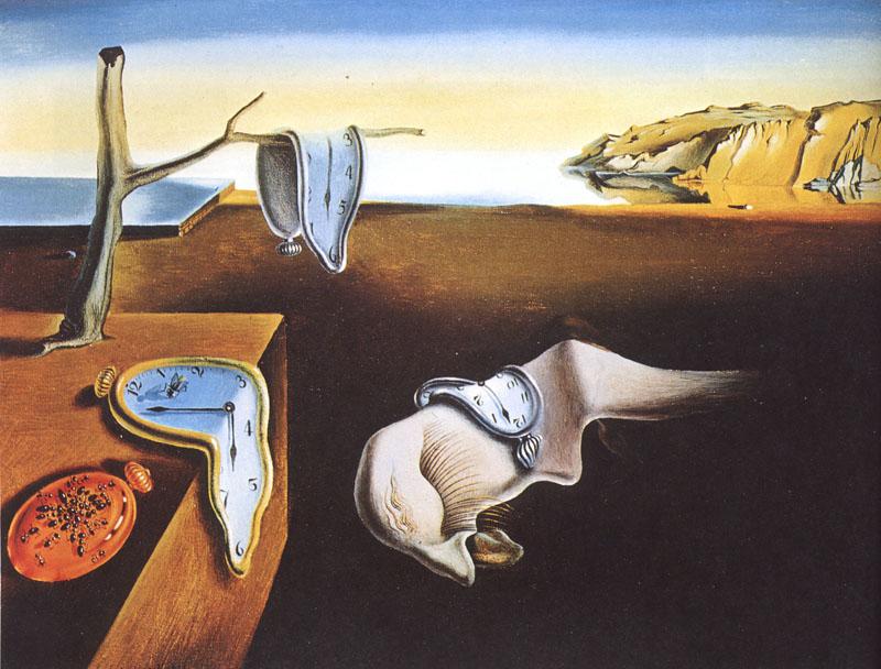 La Persistenza della Memoria, Salvador Dalì - Lande Incantate
