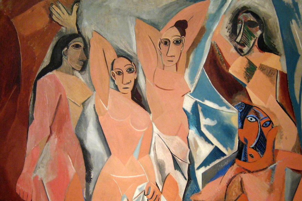 Les demoiselles d'Avignon, Pablo Picasso - Lande Incantate