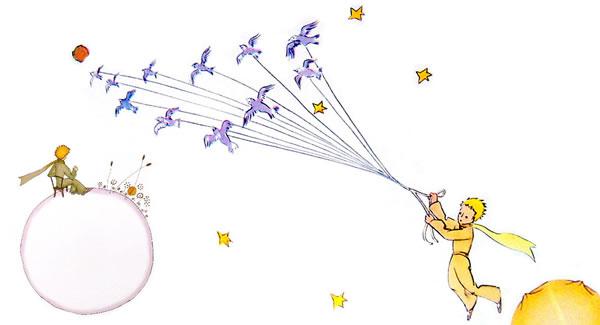Il Piccolo Principe, disegno - Lande Incantate
