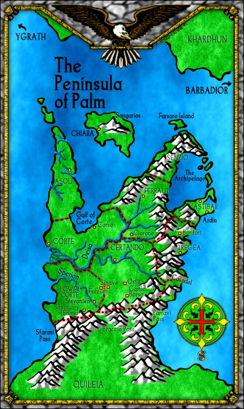 PEnisola del palmo - Tigana - Lande Incantate