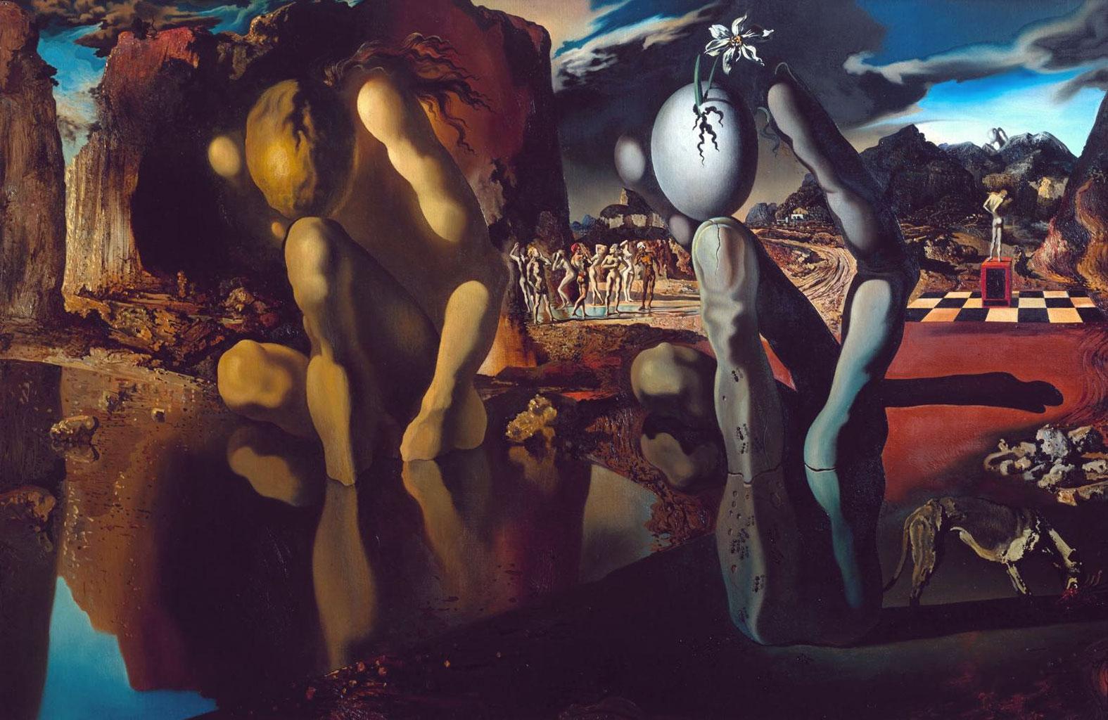 Metamorfosi di Narciso  - Lande Incantate