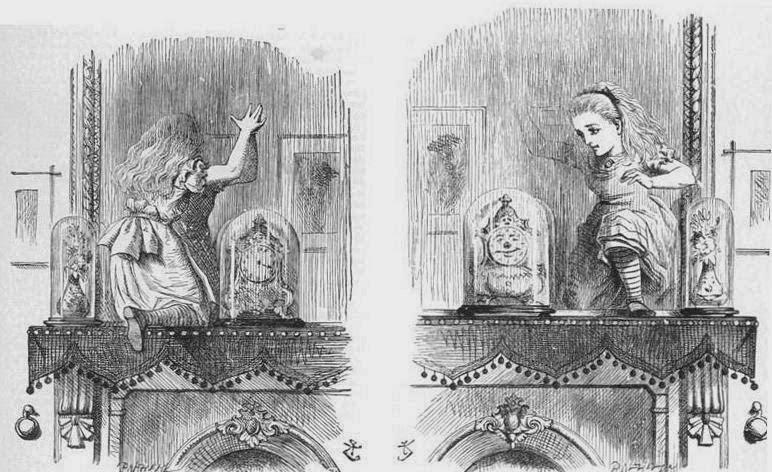 Attraverso lo specchio di lewis carroll lande incantate - Alice attraverso lo specchio kickass ...
