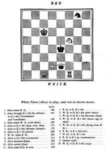 Attraverso lo specchio, gioco scacchi - Lande Incantate