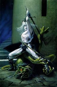 Elric, l'uccisore di demoni, Michael Whelan - Lande Incantate