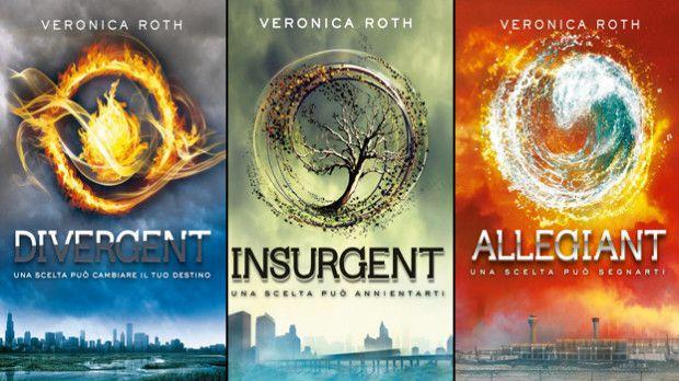 La Trilogia di Divergent di Veronica Roth