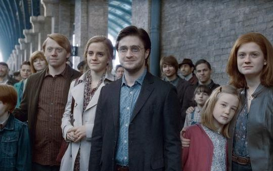 Harry Potter - Scena al binario - Lande Incatate