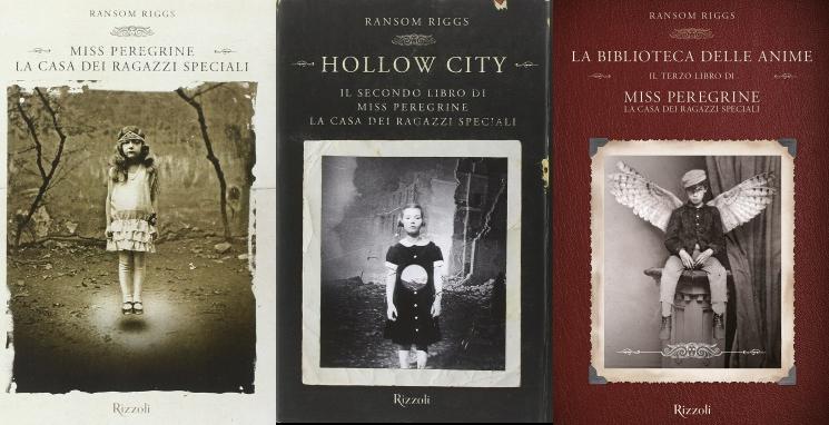 La Trilogia di Miss Peregrine di Ransom Riggs